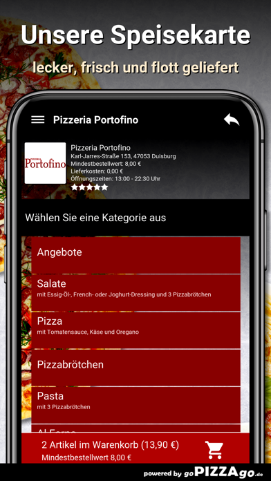 Pizzeria Portofino Duisburg screenshot 4
