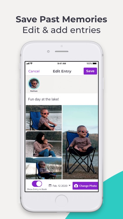 Qeepsake: Family & Baby Book screenshot-8
