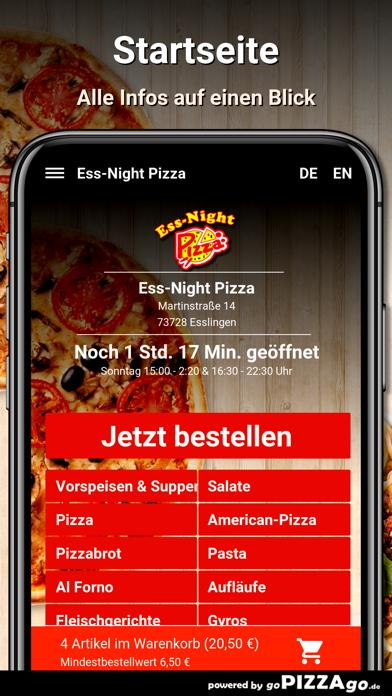 Ess-Night Pizza Esslingen screenshot 2