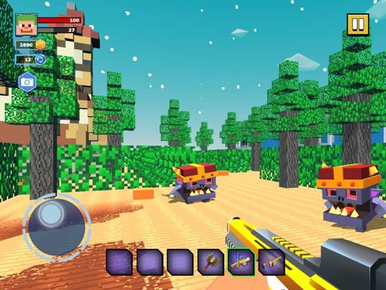 Fire Craft: 3D Pixel World screenshot 8