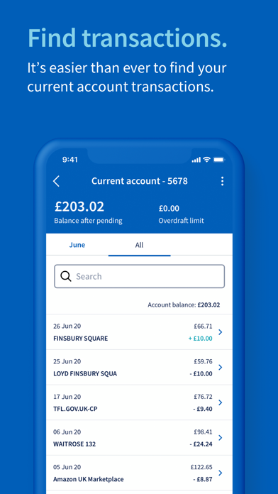 Halifax Mobile Banking screenshot three
