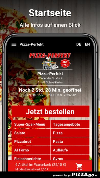 Pizza-Perfekt Schwaikheim screenshot 2