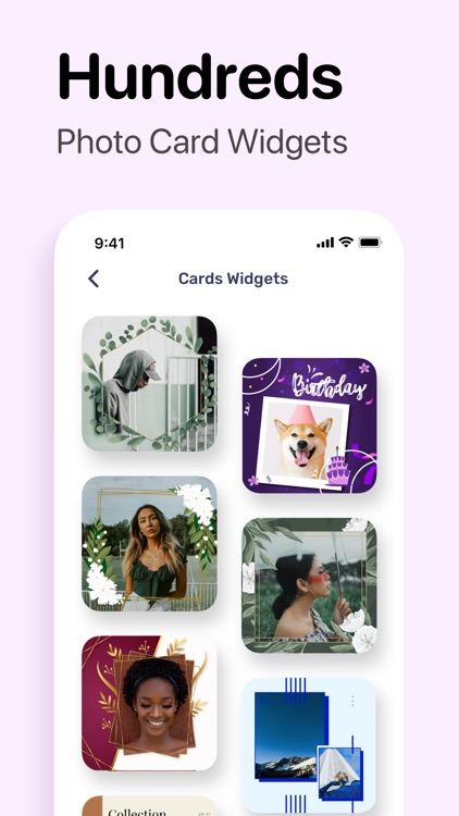 Photo Widget: Photo for Home