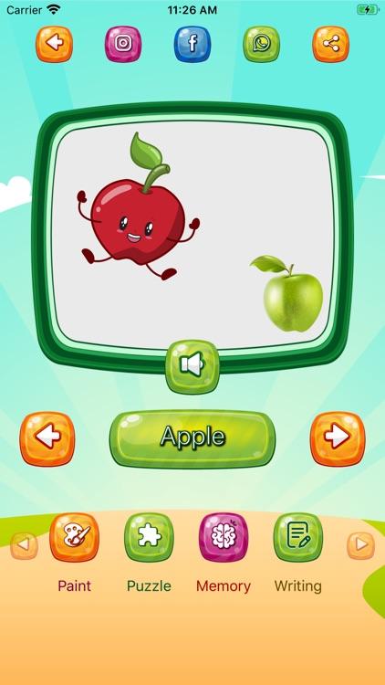 Fruits and Vegetables app screenshot-4