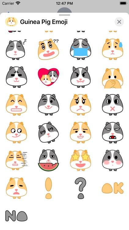 Guinea Pig Emoji screenshot-3