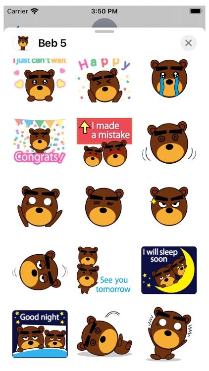 Beb 5 Stickers