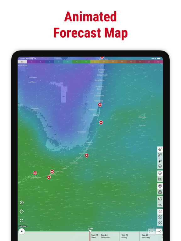 Windfinder Pro: Wind & Weather Screenshots