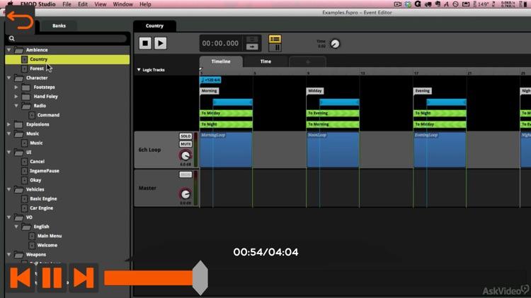 Intro Course for FMOD Studio screenshot-3