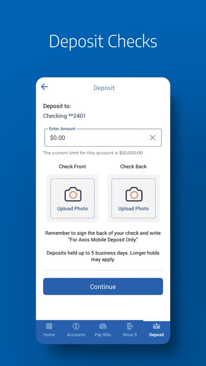 Axos Bank for Nationwide screenshot-4