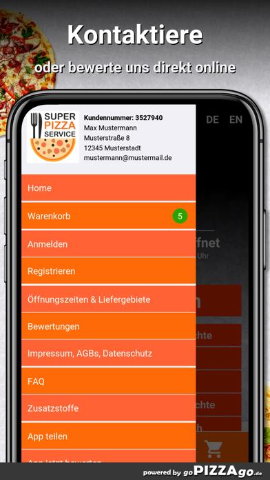 Super Pizza Erbes-Büdesheim screenshot 3