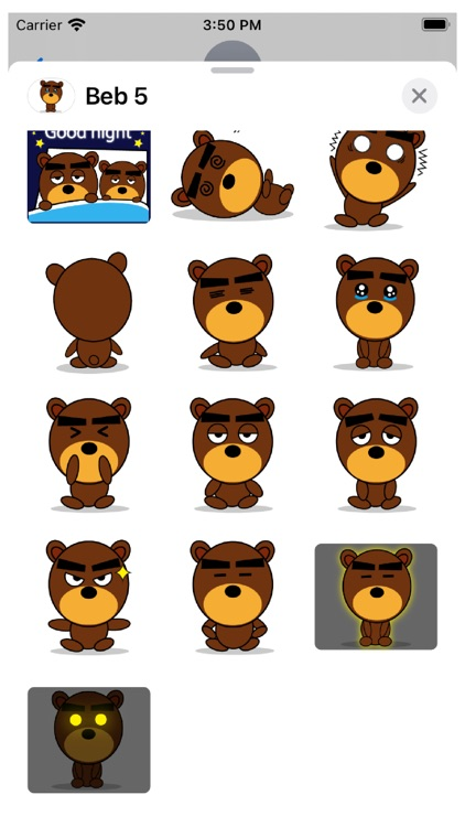 Beb 5 Stickers screenshot-3