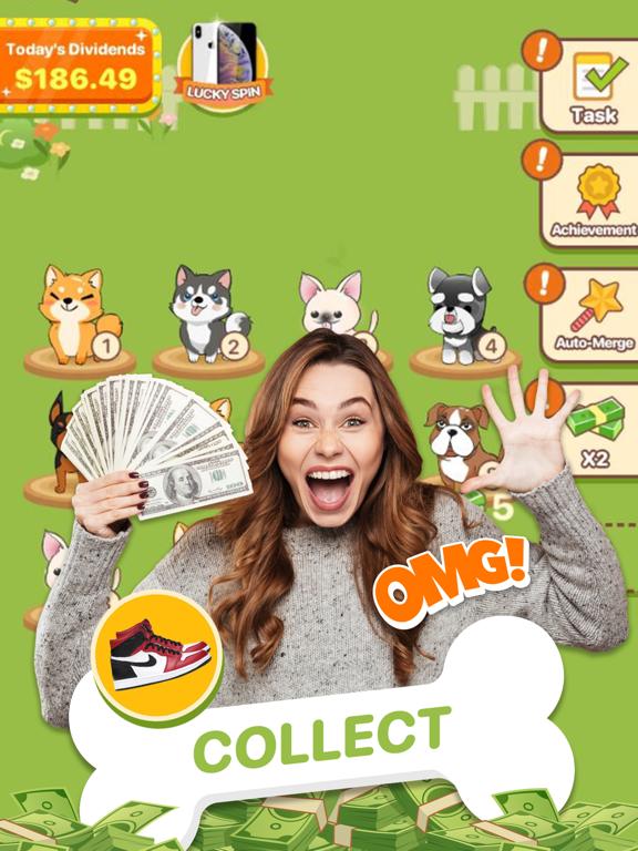 Puppy Town - Merge & Win screenshot 9