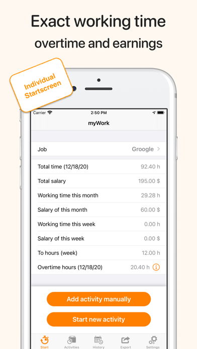 cancel myWork - Time tracking app subscription image 1