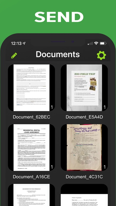 Document Scanner - PDF, OCR Screenshot