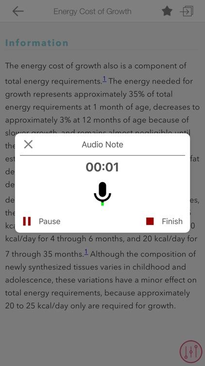 Pediatric Nutrition Guide screenshot-7