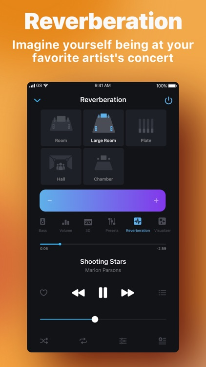Equalizer & Bass Booster screenshot-3