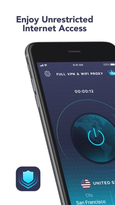 Full VPN & Wi-fi proxy Screenshot