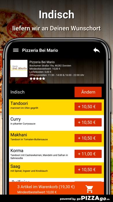Pizzeria Bei Mario Dorsten screenshot 5