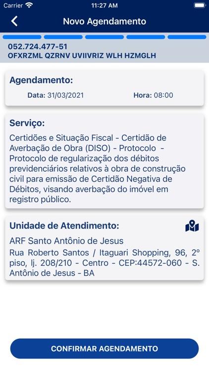 Agendamento RFB screenshot-7