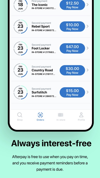 Afterpay: Shop now. Pay later. screenshot-3