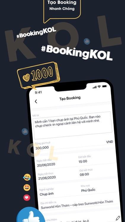 Booking KOL screenshot-5