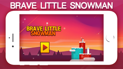 Brave little Snowman screenshot 1