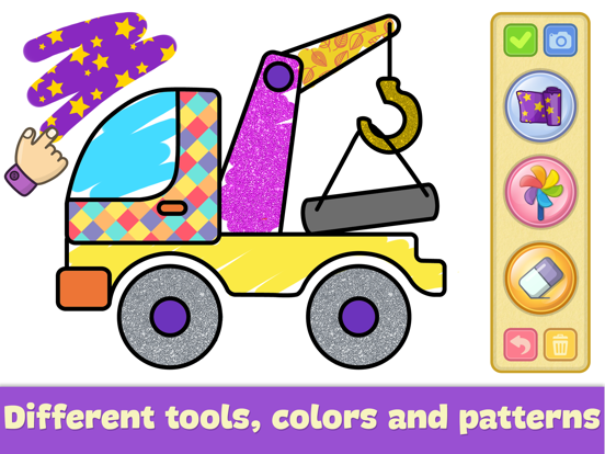Kids doodle games and free drawing for toddlers screenshot