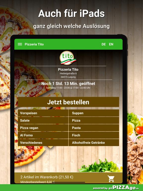 Pizzeria Tito Leipzig screenshot 7