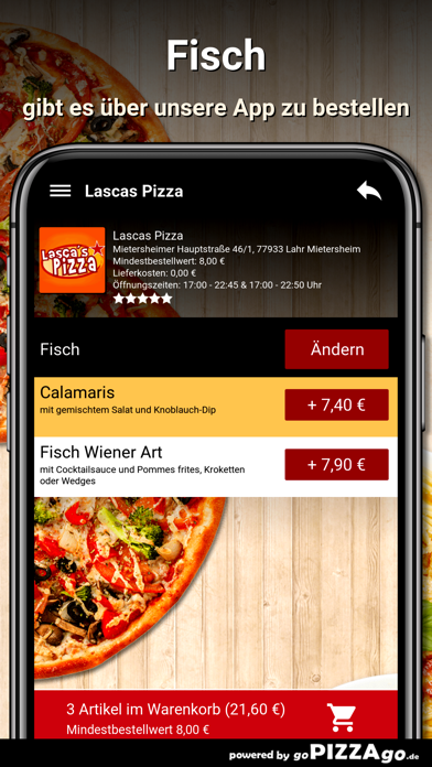 Lascas Pizza Lahr Mietersheim screenshot 6