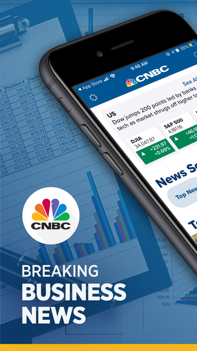 CNBC: Stock Market & Businessのおすすめ画像1