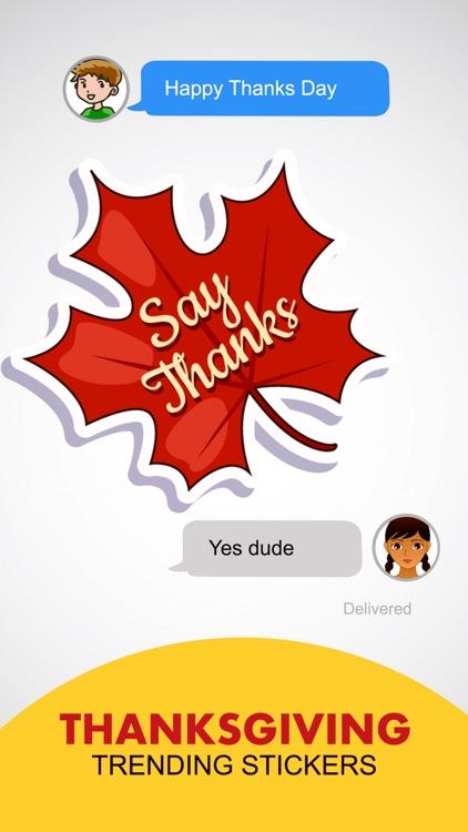 Thanksgiving Holidays Stickers screenshot-3