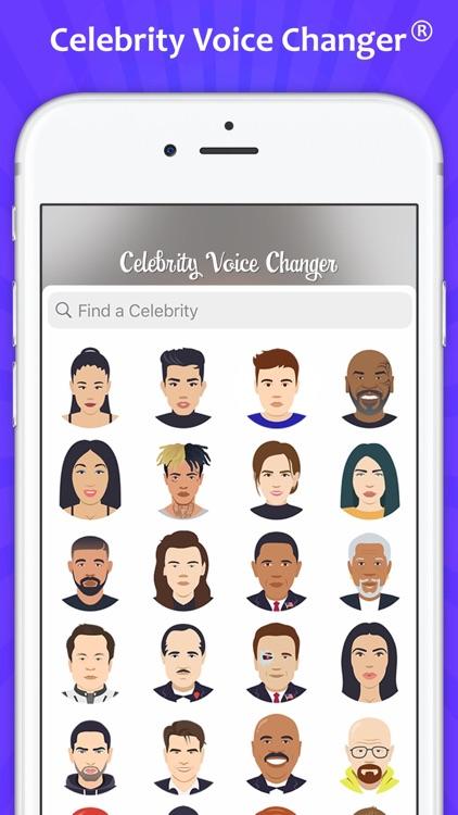 Celebrity Voice Changer Parody