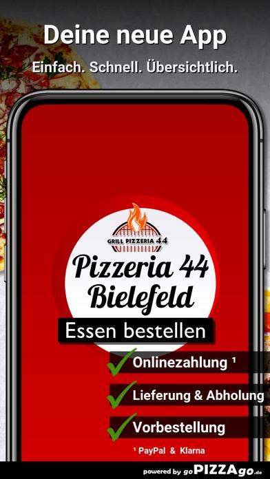 Grill Pizzeria 44 Bielefeld screenshot 1
