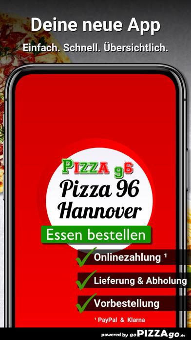 Pizza-96 Hannover screenshot 2