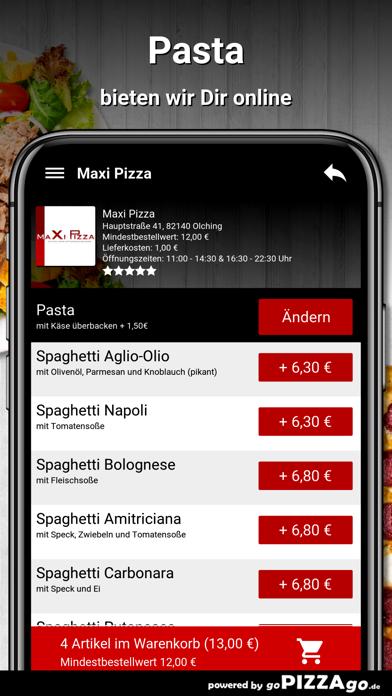 Maxi Pizza Olching screenshot 5