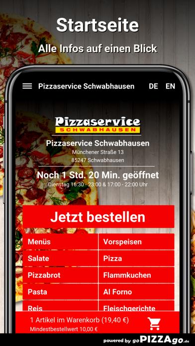 Pizzaservice Schwabhausen screenshot 2