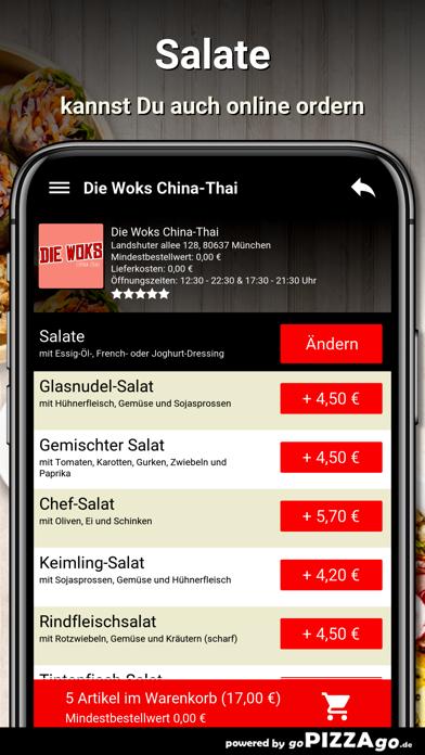 Die-Woks China-Thai München screenshot 5