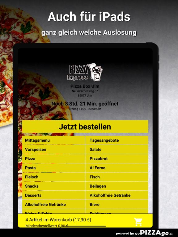 Pizza Box Ulm Ulm screenshot 7