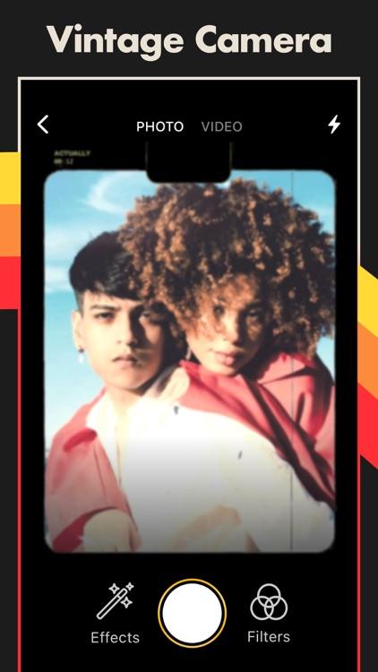 VHS Cam, Vintage Camera Effect screenshot-3