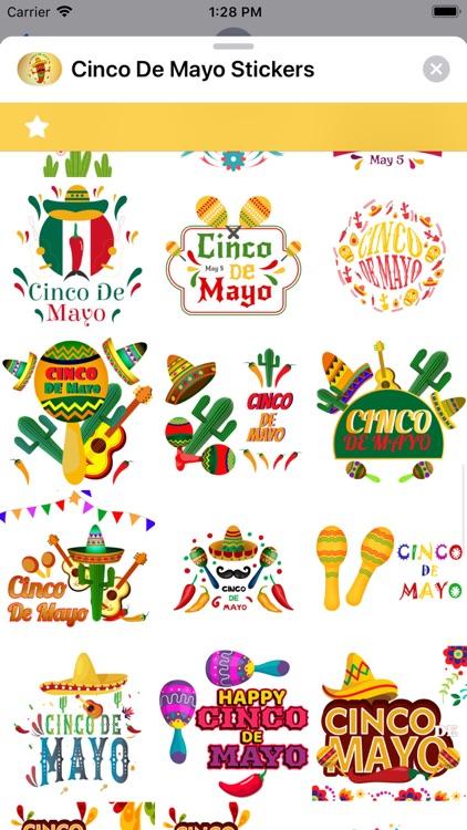 Cinco de Mayo Stickers screenshot-3