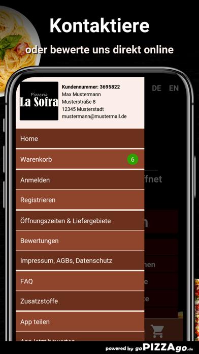 Pizza-Florenz Kassel screenshot 3