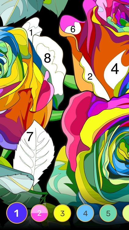 Color Flow - Paint by Number screenshot-9