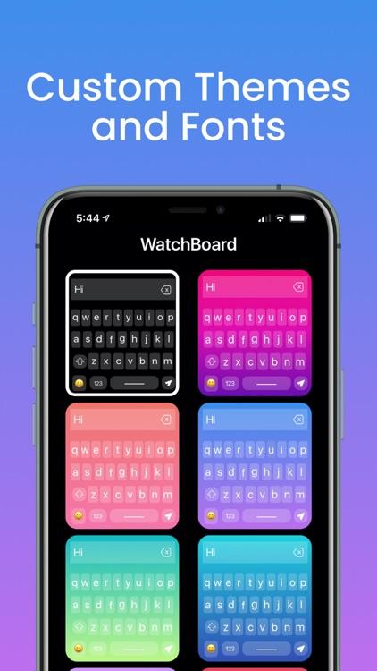 WatchBoard - Watch Keyboard screenshot-6