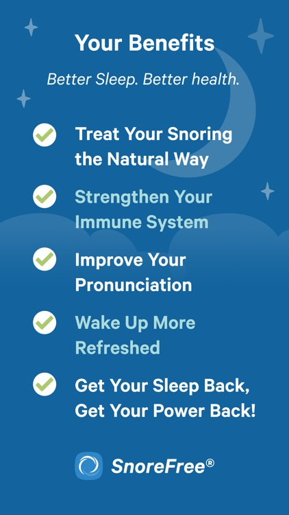 Snore Free Deep Sleep Solution screenshot-7