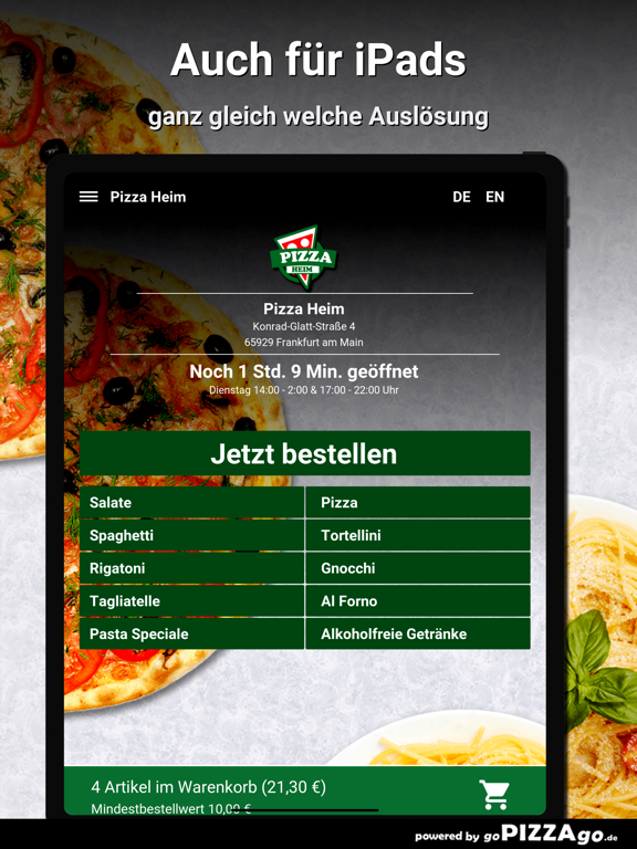 Pizza Heim Frankfurt am Main screenshot 7