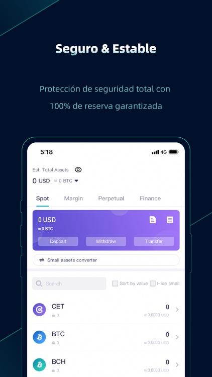 CoinEx-Cryptocurrency Exchange screenshot-4