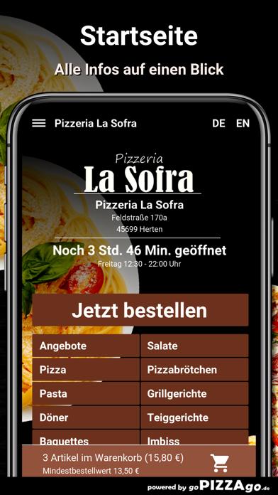 Pizza-Florenz Kassel screenshot 2