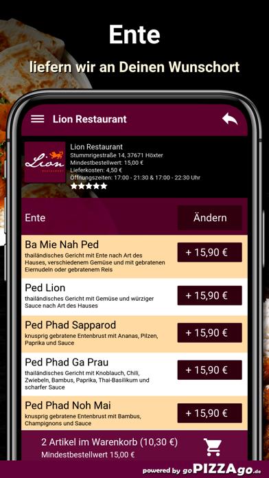 Lion Restaurant Höxter screenshot 6