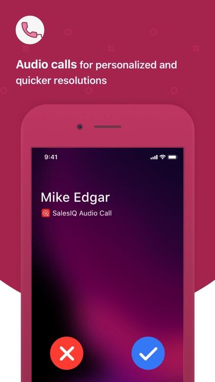Zoho SalesIQ - Live Chat App screenshot-5