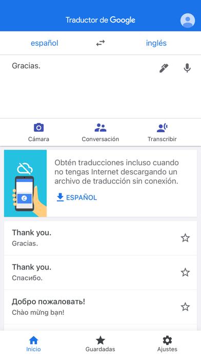 Descargar Traductor de Google para Android